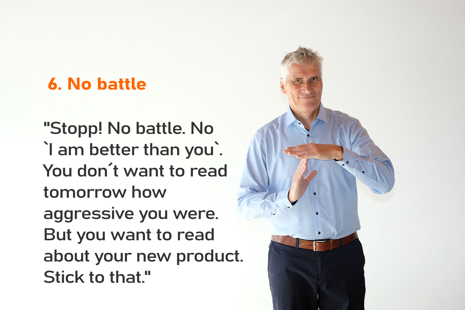 Interview tip 06 No battle-png